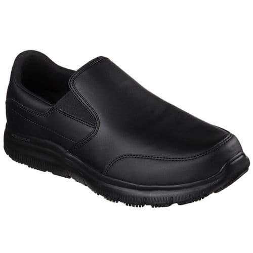 Skechers Flex Advantage Mens Occupational Footwear Black